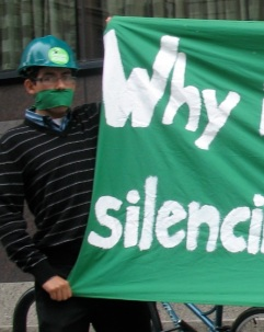 "Why is the ""greenest city"" silencing green voices?"