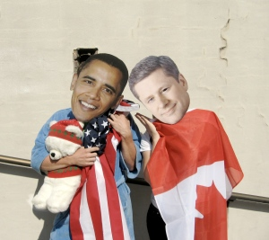 President Obama and Prime Minister Harper are going to be two of the four featured G20 leaders in tomorrow's action, sleeping on the job as the world demands stronger international climate policy this December.