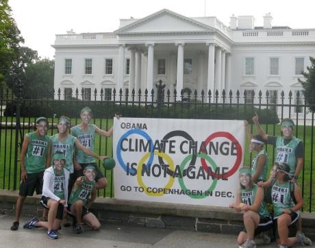 Obama to Copenhagen for 2012 Climate Treaty/2016 Olympics